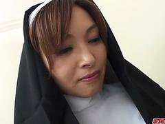 The top xxx experience for Japan nun, Hitomi Kanou