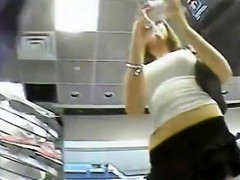 Upskirt 2 Teen Hoes In Retail Center