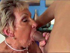 shirley, granny who loves satisfy orally