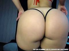 Stripper broad dancing on cam to earn some extra...