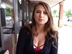 Mofos - Public Pick Ups - Shy Student Bangs for Trip Money
