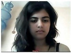 Indian Babe Strips On Live camera