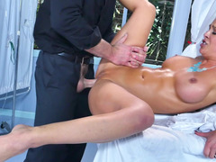 MILF was seduced and fucked well right in the hospital