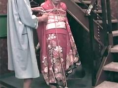 japanese kimono bondage