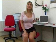 Milly Morris Sexy Secretary