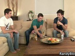 Super hot studs in queer foursome part4