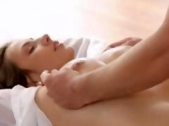 Lovers in paradise copulating in hotel