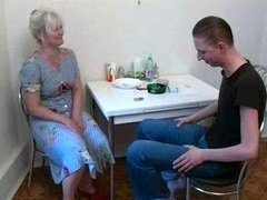 Mother Fucks With Own Son At The