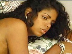 Black Brazilian Transexual Kelly  Interracial Enjoyment
