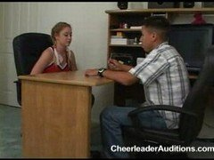 Cheerleader aspirant applies for Users access