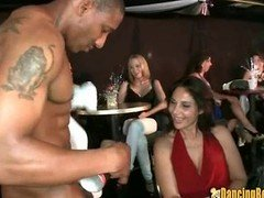 Strippers Entertain Club Absolute of Excited Chicks