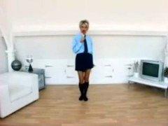 Jo Client In School Uniform Strip