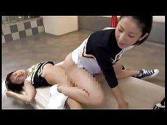 futanari get down and dirty cheerleader