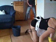 Adorable housewife