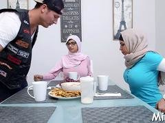 Doggystyle have an intercourse for an arab beauty