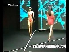 Celebnakedness porn models naked on the runway and moreover seethroughs 2