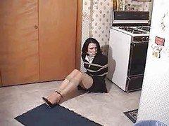 NOSY  LAWYER IN A KITCHEN