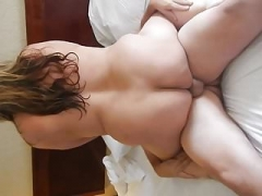 Beholding Bull Cum Inside and Wifey Also