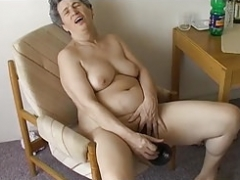 OmaPasS Grannies Using Ordinery Objects to Sex