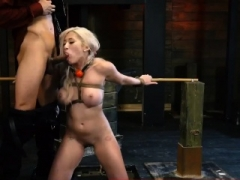 Hot 18-19 year old casting and smoking hot blonde toys Breasty