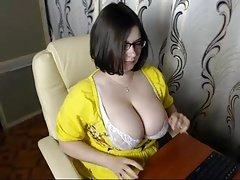 #3 milk sacks busty cam girl