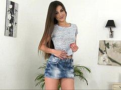 Long legged Spanish broad Lorena Garcia