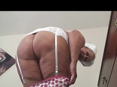 Old Slutty Nurse Making love Herself