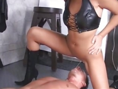 Powerful mistresses dominate their weak men