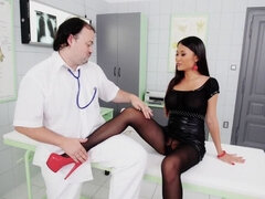 The Patient wore Pantyhose