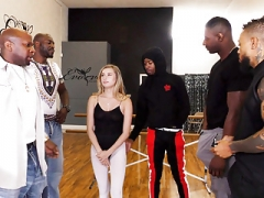 Carolina Sweets Survives BBC Group-fuck In Her Yoga Studio
