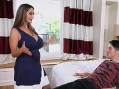 brunette mom i`d like to fuck sex with cum in mouth film