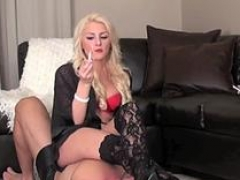 hot gal gets out her whip feature video 2