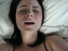 Your cock feels the pressure of her tight asshole
