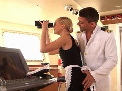 Nataly Von enjoys the advances of Toni, and besides once shes ready to give