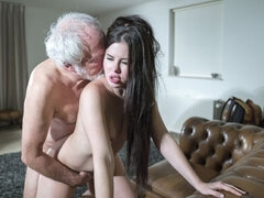 Old Yogin Fucks Teen