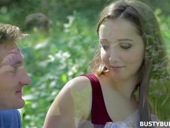 Busty Buffy - Outdoor Sex with young beautiful Czech babe