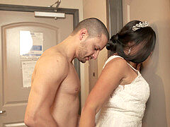 Bride leaves groom planted and fucks ex beau
