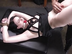 Pale Pain Floozy Alex Harper Gets Each and all Her Holes Stuffed