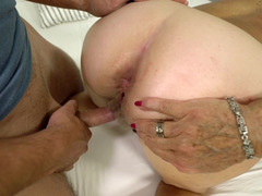 Naughty granny gets the dicking she desires from a young man