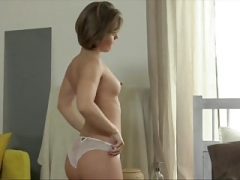 Tiny Czech Cutie Gets Her Orgasm
