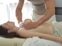 Thrilling Big Tits Massage