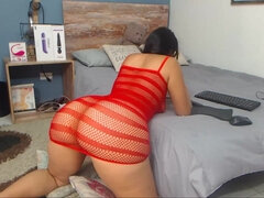 Hot latina with big butt webcam video