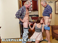BLUEPILLMEN - introducing older man Duke to Teen Naomi Alice (bpm14870)