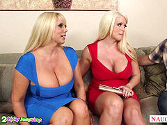 steamy moms love powerful And humungous cock Johnny sins and threesome