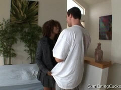 Misty Stone in Forced Bi Cuckolds