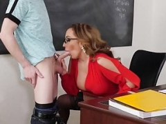 NaughtyAmerica - Richelle Ryan fucks student out after class