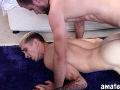 AmateursDoIt - super hot Australian guy pokes a tight assets twink with tats