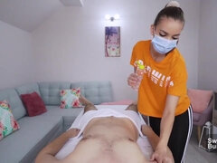 Doplatil massazhistke - Massage erotic