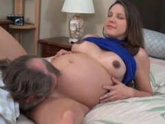 Father Poke nine Months Preggo Stepdaughter