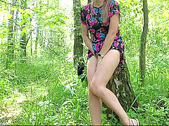 Forest masturbation, youthfull, public masturbation